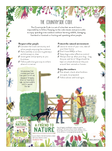 A Friend to Nature Poster